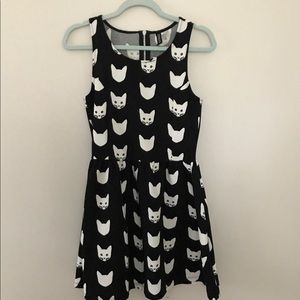 H&M Divided Cat Dress